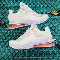 Nike Air Max 270 React White Running Shoes