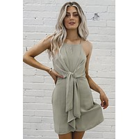 Martini Extra Dry Tied Dress