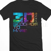 Thirty Seconds to Mars Galaxy Unisex/Men Tshirt All Size