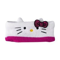 Hello Kitty White Headbands - OSFM