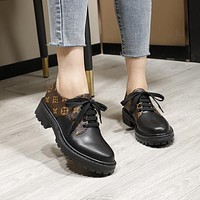 LV  Women Casual Shoes Boots fashionable casual leather01