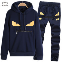 Brand Tracksuit for Mens Hoodies And Sweatshirts Brand Clothing Men's Tracksuits Jackets Sportswear Sets Suits chandal hombre