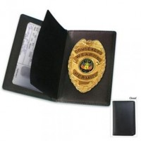 BudK Concealed Weapon Badge and Case