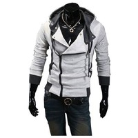 Assassins Creed III Desmond Miles New Hoodie Cosplay Costume a02 in X-Large