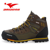 2016 High Quality men hiking boots Brand Flat Heel Men's Shoes Autumn Winter Ankle Boots Casual British Style