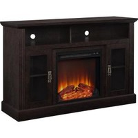 Altra Furniture Altra Chicago 50 in. Fireplace TV Console in Espresso 1764096PCOM at The Home Depot - Mobile