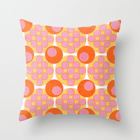 1965 Throw Pillow - Geometric Pillow - Modern Decor - Throw Pillow - Urban Decor - by Beverly LeFevre