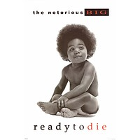 "Notorious BIG Ready to Die Album Cover Poster 24""x36"""