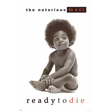 """Notorious BIG Ready to Die Album Cover Poster 24""""x36"""""""