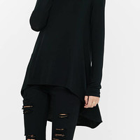 Express One Eleven Long Sleeve Hi-lo Tee from EXPRESS