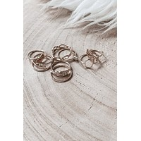 Only Dimes Nine Piece Ring Set