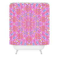 Lisa Argyropoulos Urban Aztec Reverse Shower Curtain