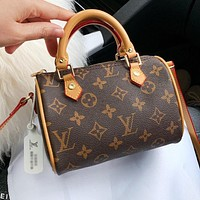 LV Louis Vuitton Fashionable Women Shopping Tote Handbag Shoulder Bag Crossbody Satchel