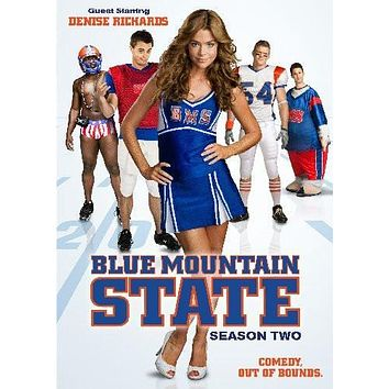 Blue Mountain State poster Metal Sign Wall Art 8in x 12in