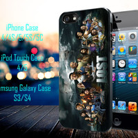 LOST TV Series Samsung Galaxy S3/ S4 case, iPhone 4/4S / 5/ 5s/ 5c case, iPod Touch 4 / 5 case