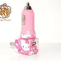 Hello Kitty iPhone Charger ( 3 In 1 charger )