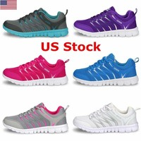 US Fashion Women 's Outdoor Sports Shoes Breathable Casual Sneakers Running Shoe