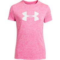 Under Armour Girls' Sun Up Big Logo Graphic T-Shirt - Dick's Sporting Goods
