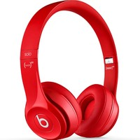 Beats by Dre Solo 2.0 Headphones - Mens Headphones - Red - NOSZ