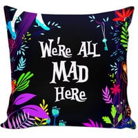 Alice and Wonderland pillow