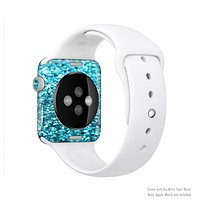 The Turquoise Glimmer Full-Body Skin Set for the Apple Watch
