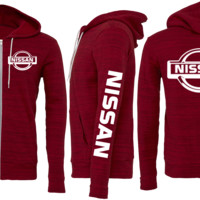 NISSAN ZIPPER SWEATSHIRT