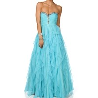 Ginnifer- Long Prom Gown