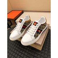 Gucci2021 Men Fashion Boots fashionable Casual leather Breathable Sneakers Running Shoes06300cx