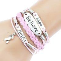 Hand Made Multi Layer Woven Leather Bracelets - 19 Styles to Choose from