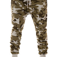 American Stitch Harem Sweatpants in Camo