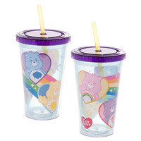 Care Bears 18oz. Acrylic Cup with Lid & Straw