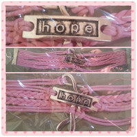 HOPE Bracelet - 100% Donated To Breast Cancer Research