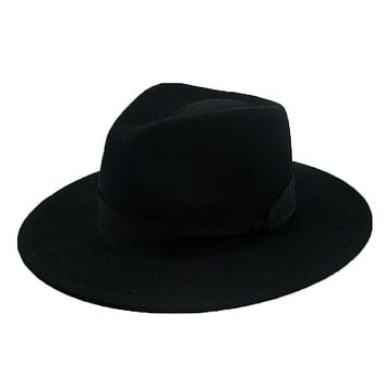 Fedora Hats For Men & Women Winter Wool Felt Hat