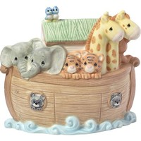 """""""Overflowing With Love"""" Noah's Ark Porcelain Night Light"""
