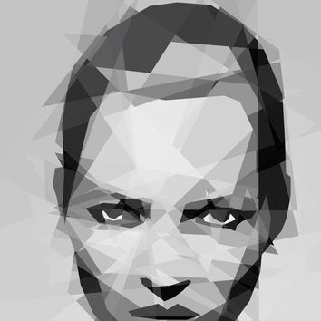 Kate Moss - III Art Print by Three of the Possessed   Society6