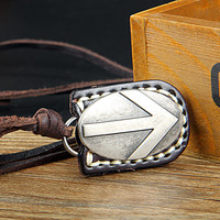 soft leather necklace,men leather long necklace, women leather necklace   C002