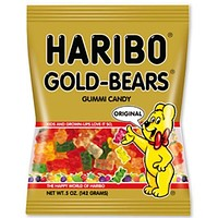 Haribo Gold Bear Gummies