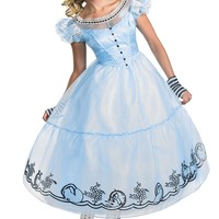 Alice in wonderland Movie Costume Dlx 4-6