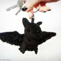 Bat keychain *Gomez black