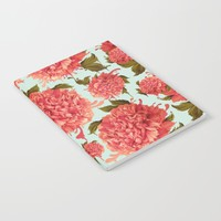 A Splash of Peony, A Dash of Color Notebook by Kristy Patterson Design