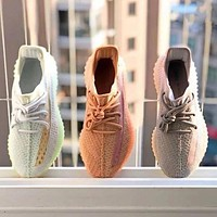 Adidas Yeezy Boost 350 hot sale couple casual sneakers