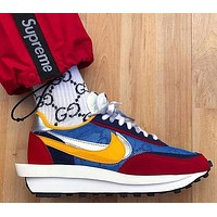 Nike x Sacai Waffle Daybreak Woman Men Sneakers Sport Shoes