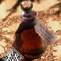 Dark Shadows . White Magick Alchemy Perfume Oil .With Amber, Musk, Vetiver, Vanilla, Sandalwood and More .50 Ounce
