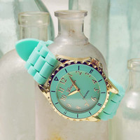 Frosted Mint Watch