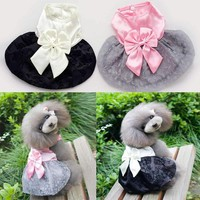 Pet Dog Clothes Dress Winter Dog Clothes For Small Dogs Girl Clothing Products Ropa Para Perros 32