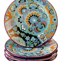 Tracy Porter For Poetic Wanderlust 'Rose Boheme' Dessert Plates (Set of 4)
