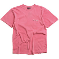 Global Pigment Dyed T-Shirt Pink
