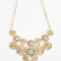 Statement Gleam Weaver Necklace by ModCloth