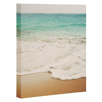 Bree Madden Ombre Beach Art Canvas