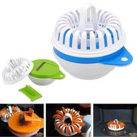 Microwave Apple Fruit Potato Crisp Chip Slicer Snack Maker DIY Complete Set Tray